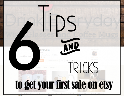 6 Tips To Get Your First Sale On Etsy
